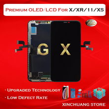 Premium Quality LCD For iPhone X 11 XR XS MAX Screen OLED Display Replacement With 3D Touch True Tone No Dead Pixel With Tools