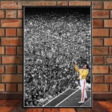 Freddie mercury богемный рок музыка звезда плакаты и принты