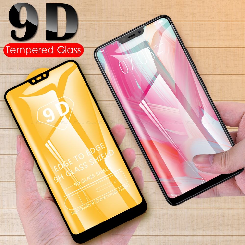 9D Full Cover Screen Protector For BBK Vivo Y17 Y15 Y12 Y11 2019 Y97 Y95 Y93 Y91 Y91C Y90 Y85 Y83 Y81 Y81i Tempered Glass Film