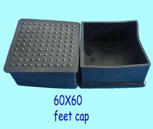 Image 4 - 20x20 22x22 25x25 30x30 38x38 40x40 45x45 50x50 60x60 chaise carrée pieds capuchon protection enveloppement table bureau jambe tube insert fin