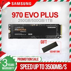 Image 1 - Samsung 970 Evo Plus 250Gb 500Gb 1Tb M.2 Ssd Nvme M.2 2280 Interne Solid State Harde Schijf ssd Pcie 3.0X4, nvme 1.3 Nieuwe Ssd