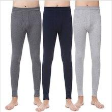 Thermal Underwear Men Long Winter Warm Thicken Thermo Underwear Pants Mens Leggings Thermal