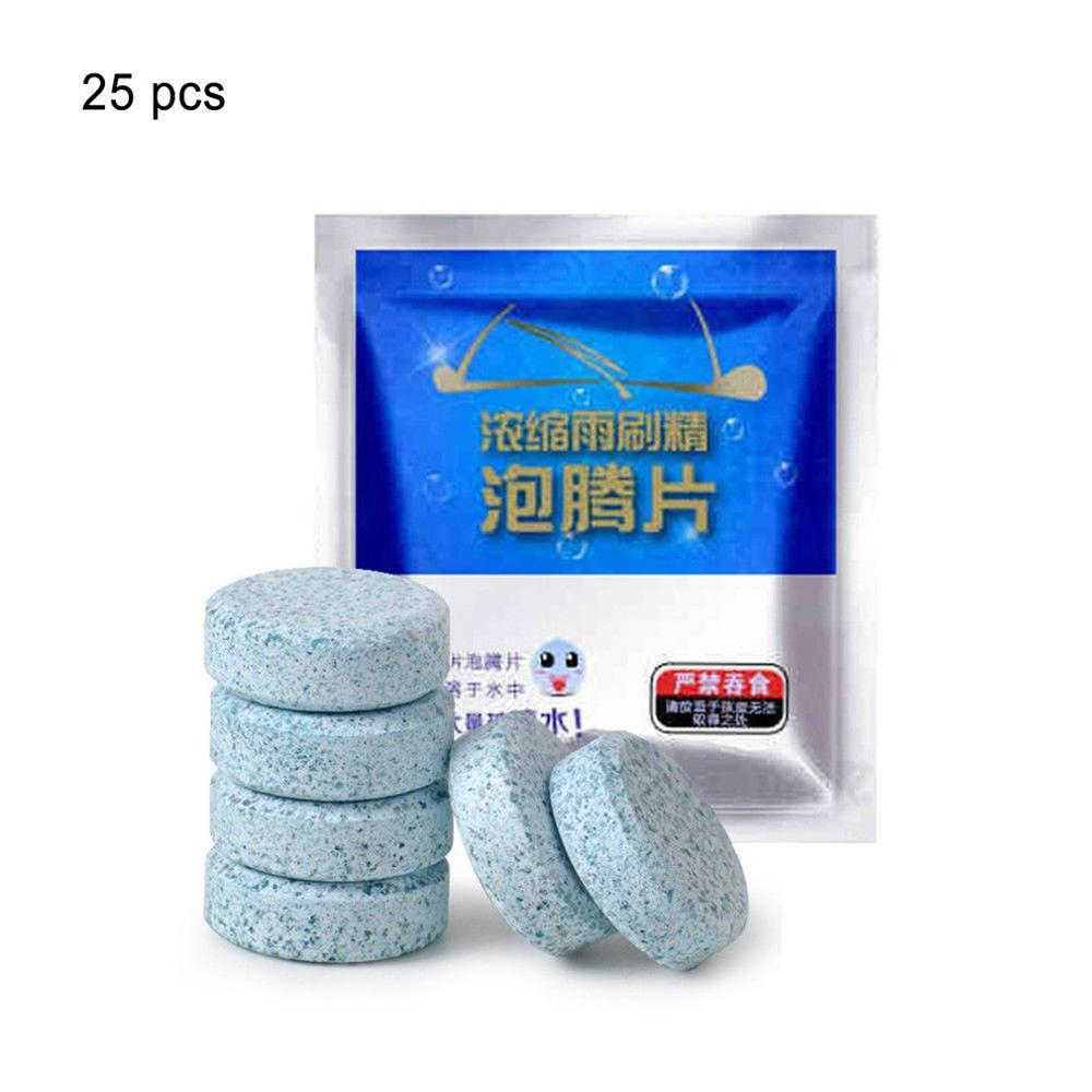 1 Pack Car Solid Wiper Fine Windscreen Washer Tablets Effervescent Cleaner Pills Window Cleaning Auto Windshield Glass Cleaner