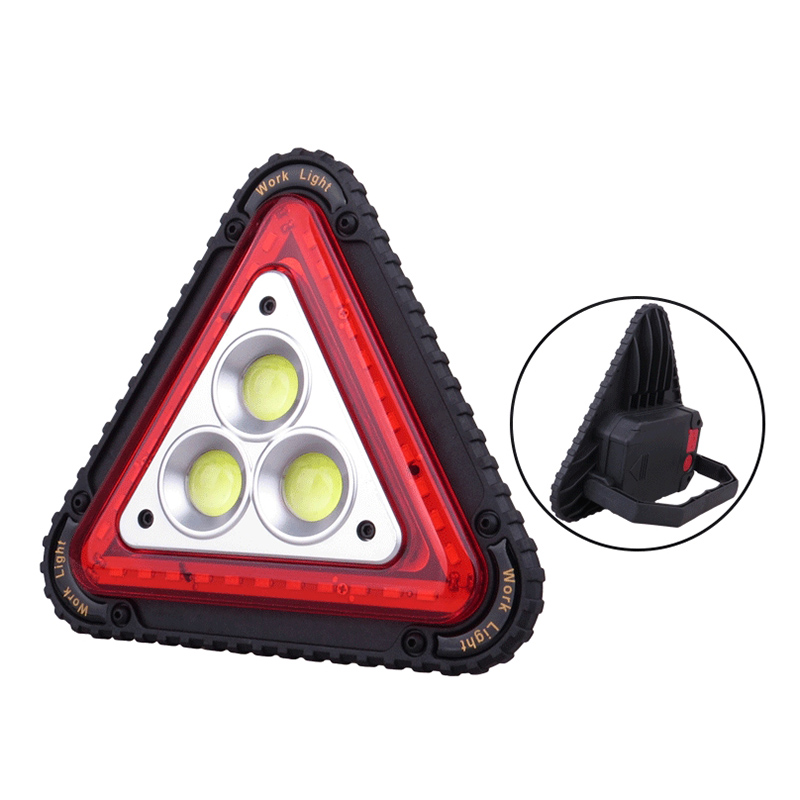 LED Working Lamp Portable Waterproof Triangular Warning Light For Camping Hiking Emergency TU-shop