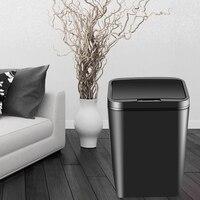 ذكي التعريفي التلقائي القمامة غرفة المعيشة المنزلي غرفة نوم المطبخ الحمام الكهربائية مع غطاء كتم المنزل الذكي مع البطارية