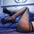 Sexy Women's Stockings European And American Style Fashion Diamond Hollow Out Fishing Net Stockings Mesh Female's Tights