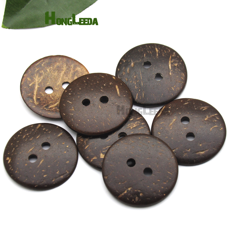 22mm Dark Charcoal Grey 4 Hole Coat Jacket Craft Sewing Buttons Button K227