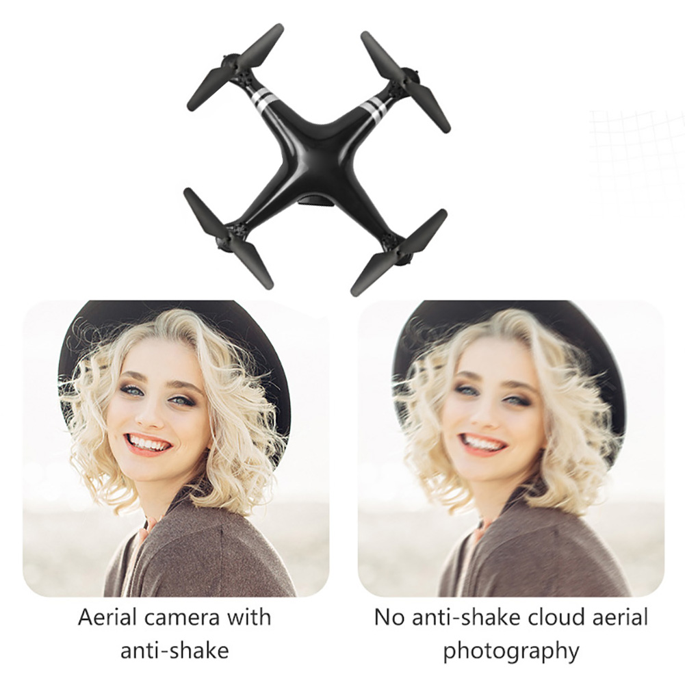 Four Axis Gravity Sense Wifi Transmission Quadcopter ABS Drone One Key Return Hold Height 360 Degree Rolling RC Toys Portable