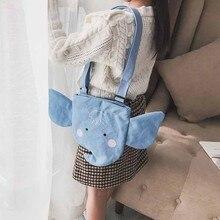 Дети мультфильм Животные дизайн сумка через плечо модная для девочек Детская сумка через плечо