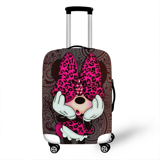 Cute Cartoon Elastic Luggage Protective Cover Case For Suitcase Protective Cover Trolley Cases Covers Xl Travel Accessories
