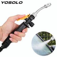 YOSOLO – pistolet de pulvérisation à Jet deau, tuyau, buse de pulvérisation, Jet deau, haute pression, pour le jardin