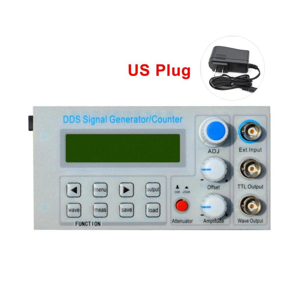 SGP1010S panneau intégré DDS générateur de Signal de fonction/Instrument d'enseignement compteur de fréquence de Signal avec adaptateur US