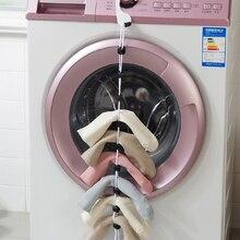 Vanzlife домашние носки с подвесной веревкой, креативная многофункциональная моющая одежда, корзина, сетчатые носки для стирки, чулки, сушильны...
