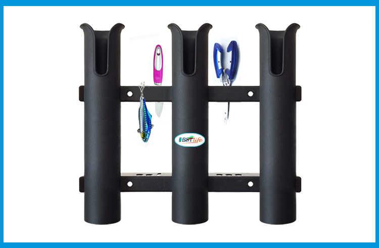 Barco marino, yate, Kayak, pesca, Vertical, soporte de barra de enlace, organizador, soporte de montaje en tubo, soporte de montaje en tubo, tenazas de almacenamiento para señuelos
