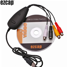 Original Genuine Ezcap172 USB Audio Video Grabber Capture,Convert Analog video from VHS,Video recorder,camcorder,DVD ,Can Win10