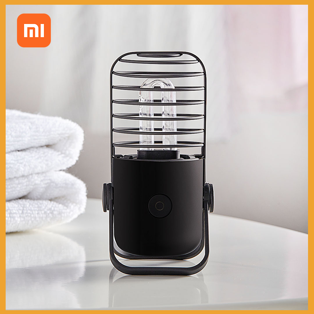 Xiaomi Youpin Xiaoda Ozone UV-C Sterilization Disinfection Lamp Wireless Potable Ultra Violet Light For Disinfect Bacterial