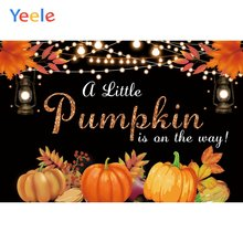 Осенний Виниловый фон для фотосъемки новорожденных детей с изображением
