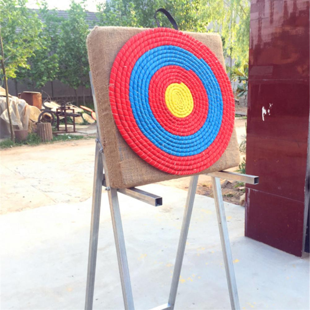 Outdoor Sports Archery Straw Bow Arrow Target Single Layer Bow Hunting Shooting Lightweight Shooting Board Accessories 1Pcs