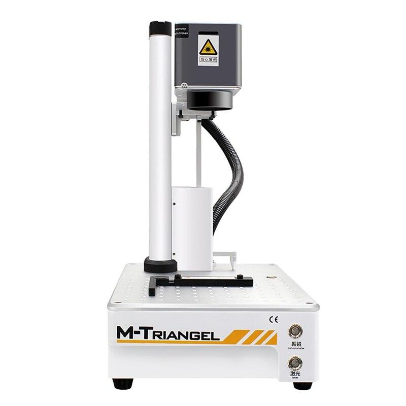 Máquina da marcação do metal do gravador do corte do laser do cnc da fibra de m-triangel 20 w