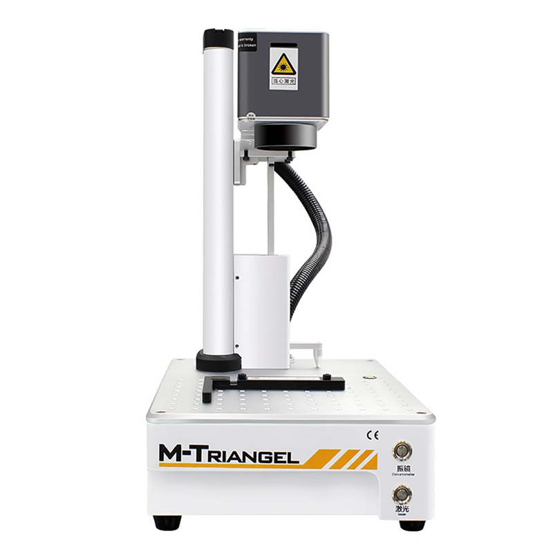 M-Triangel <font><b>20W</b></font> Fiber <font><b>CNC</b></font> <font><b>Laser</b></font> Cutting Engraver Metal Marking Machine image