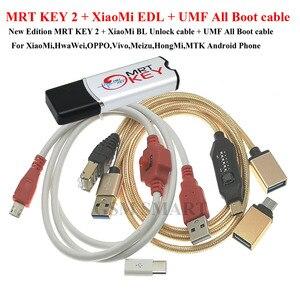 Image 1 - MRT SCHLÜSSEL 2 MRT DONGLE SCHLÜSSEL mrt schlüssel 2 + für xiaomi hongmi 9008 kabel für Coolpad hongmi entsperren konto entfernen passwort imei reparatur