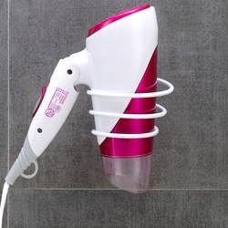 Креативная железная сушилка для волос, дыропробивная сушилка для ванной для волос, полки для хранения для ванной комнаты, сушилка для