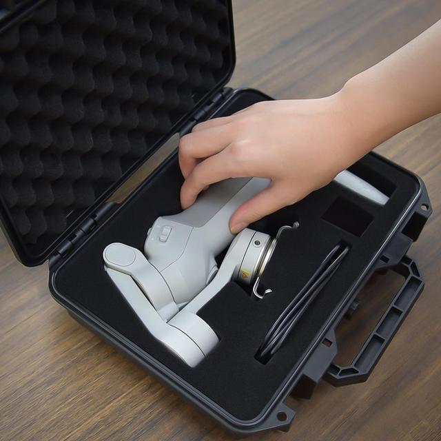 OSMO Mobile 4 étui étanche sac de rangement coque rigide étui portable pour DJI OSMO Mobile 3 4 OM4 accessoires dextension