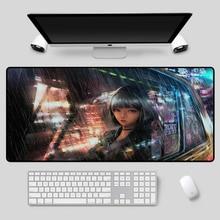 XGZ изысканный Multi-размер клавиатуры аниме девушки, что настольный коврик прочный резиновая нескользящая мыши