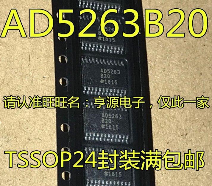 5 Stuks AD5263BRUZ20 AD5263B20 TSSOP24