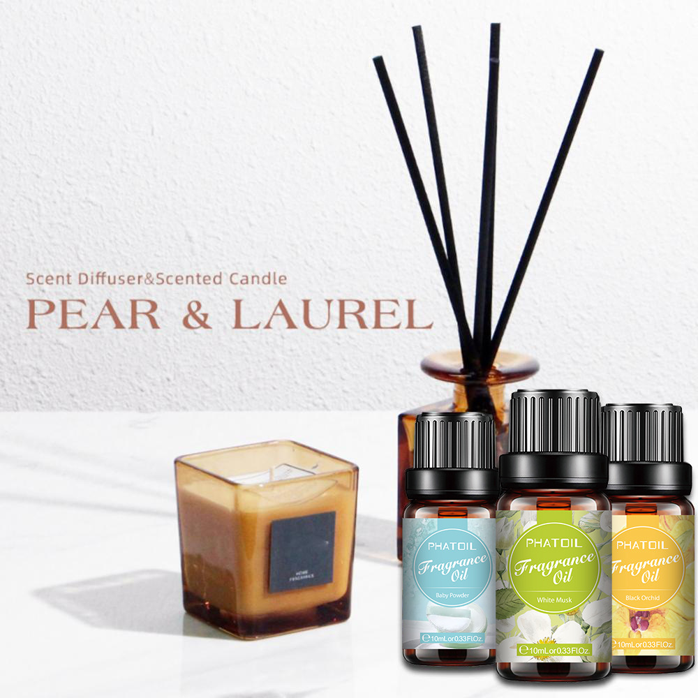 10ml White Musk Perfume Fragrance Essential Oil For Soap Candle Making Baby Powder Sea Breeze Coffee Vanilla Coconut Flavor Oil-3