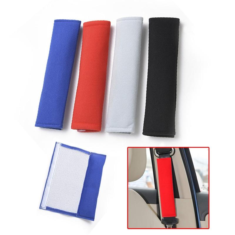 Универсальные чехлы для сидений автомобиля плечевой ремень подушка крышка для автомобильного ремня полный набор сиденье протектор чехол д...