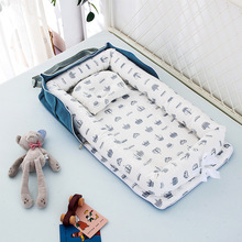 Baby Cribs Portable Baby Nest Bed for Boys Girls Travel Bed Infant Cotton Cradle Crib Baby  Newborn Babybassinet for baby