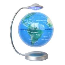 Light Floating-Head Levitation-Light Globe for Office Eu-Plug Netic 8-Inch