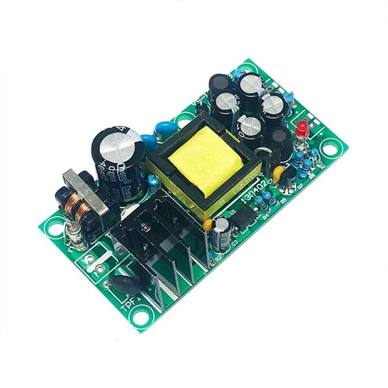 Изолированный модуль импульсного питания 12 В, 5 В, 1 А, модуль электропитания с 220 В на 12 В, 5 В, 1 А, двойной выход