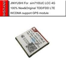 Jinyushi para sim7100jc lcc 4g 100% novo & original tdd/fdd lte wcdma suporte módulo gps no estoque frete grátis