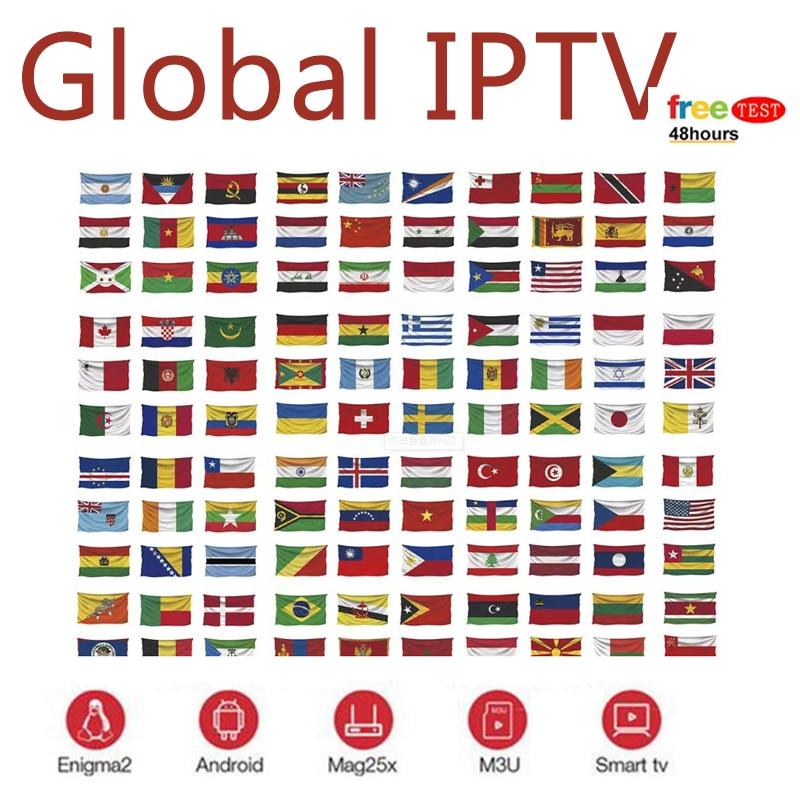 7500 Live Europe IPTV Subscription Rocksat France UK German Arabic Dutch French Poland Portugal Smart TV IPTV M3U For Android