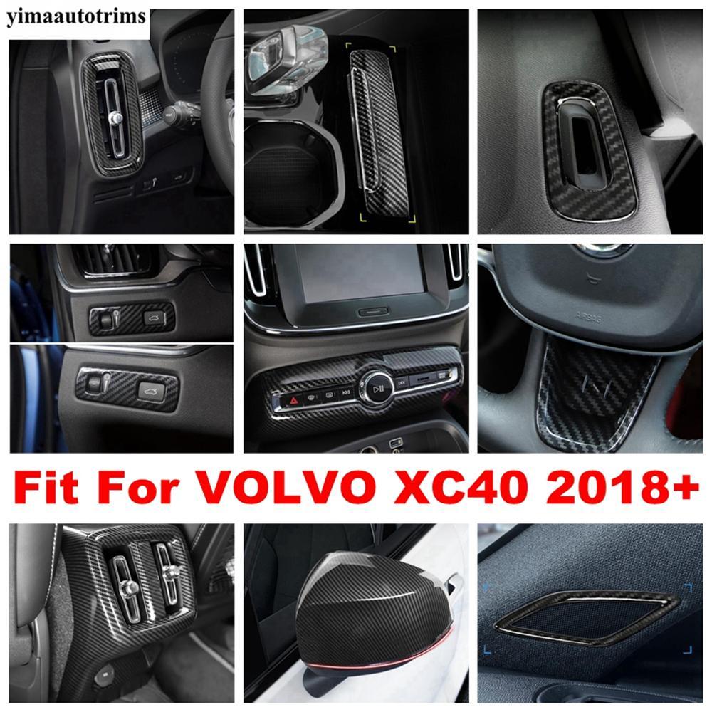 Купить для volvo xc40 2018 2021 боковые вентиляционные отверстия переменного