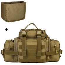 Molle Military Waist Bags Cameras Bag Fanny Pack Belt Tactics Large Shouder Assault Camping Pack Outdoor Sports Camera XA573WA
