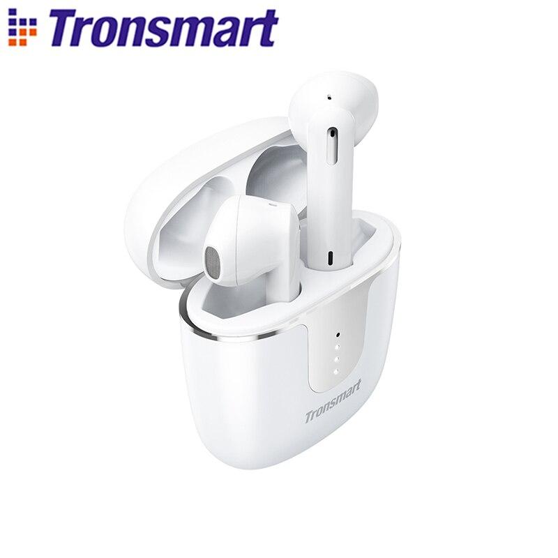 Tronsmart Onyx Ace TWS Bluetooth 5.0 ecouteurs Qualcomm aptX écouteurs sans fil annulation du bruit avec 4 micros, 24H de récréation