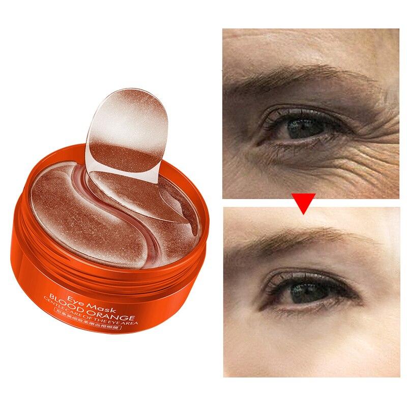 Hydrogel Eye Patches Nicotinamide Anti Aging Collagen 60PCS For Ageless Korean Gel Patch Anti Wrinkles Eyes Mask Dark Circles M