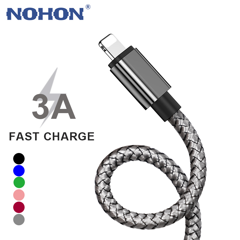 3m Fast Charging USB Charger Cable For iPhone 11 12 Pro Max Xs X XR 6 6s 7 8 Plus iPad Data Long Wire Cord Mobile Phone Cables