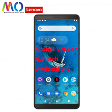 Lenovo Global Tab V7 3GB RAM 32GB ROM Smartphone Snapdragon Octa Core 5180mAh 6.9 pouces Android 9.0 Pie OTA PB 6505M téléphone portable