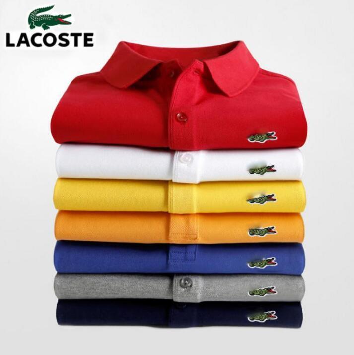 Высококачественная Брендовая обувь; Мужские Женская футболка поло с коротким рукавом Classic Homme; Одежда на каждый день 100% хлопок Роскошные Диз...