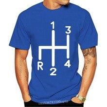 Old Skool Hooligans Classique Voiture T-shirt-Mg Austin Healey Mini Levier De Vitesse Classique Unique Tee Shirt