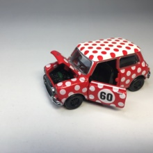Tiny  1/50  Mini Cooper 1960s DieCast Model Car Collection Limited