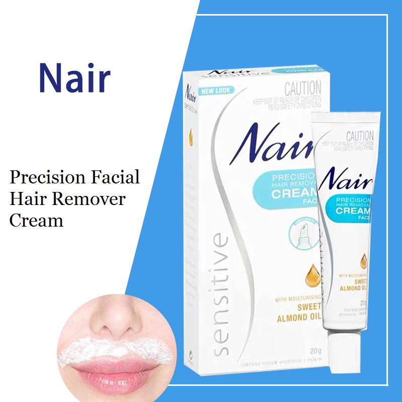 Australia Nair Precision Facial Hair Remover Cream 20g Remove
