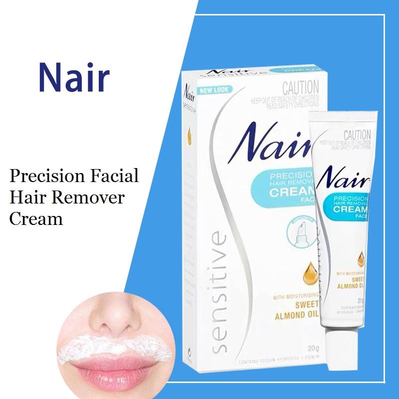 Australia Nair Precision Facial Hair Remover Cream 20g Remove
