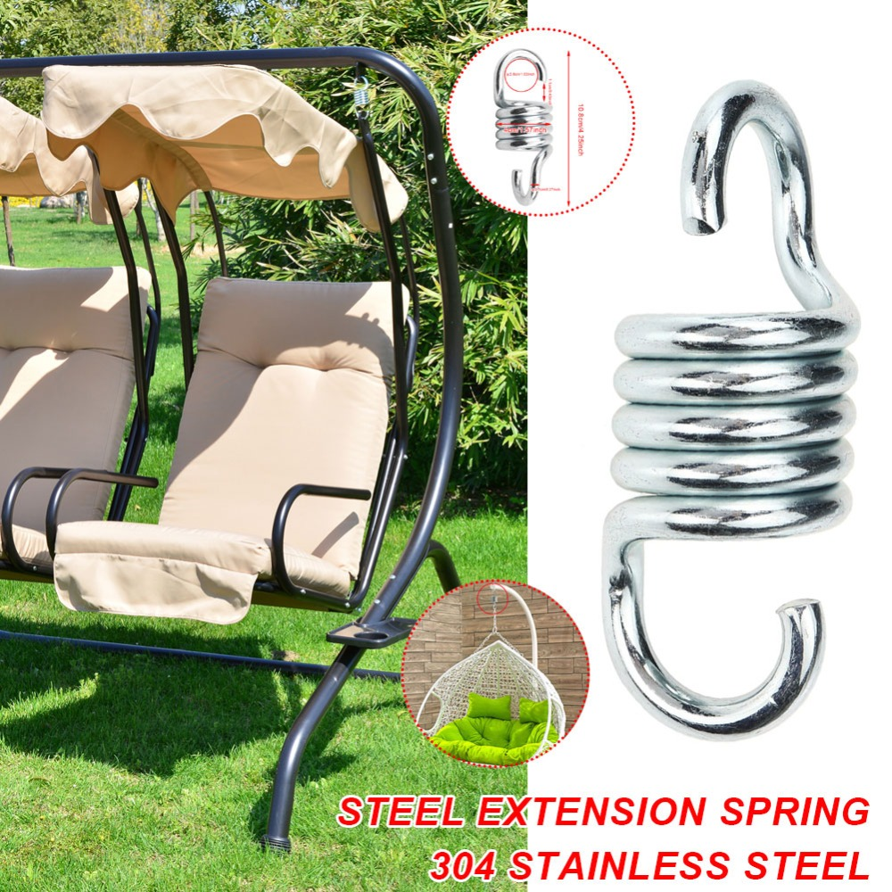 500lbs Weight Capacity Heavy Bag Spring Hammock Chair Accessories Swing Hammock Mounting Hardware Swing Chair Hanging Kit Sandbag Hanging Basket Wicker Chair Set Patio Lawn Garden Hammocks Swing Chairs Accessories