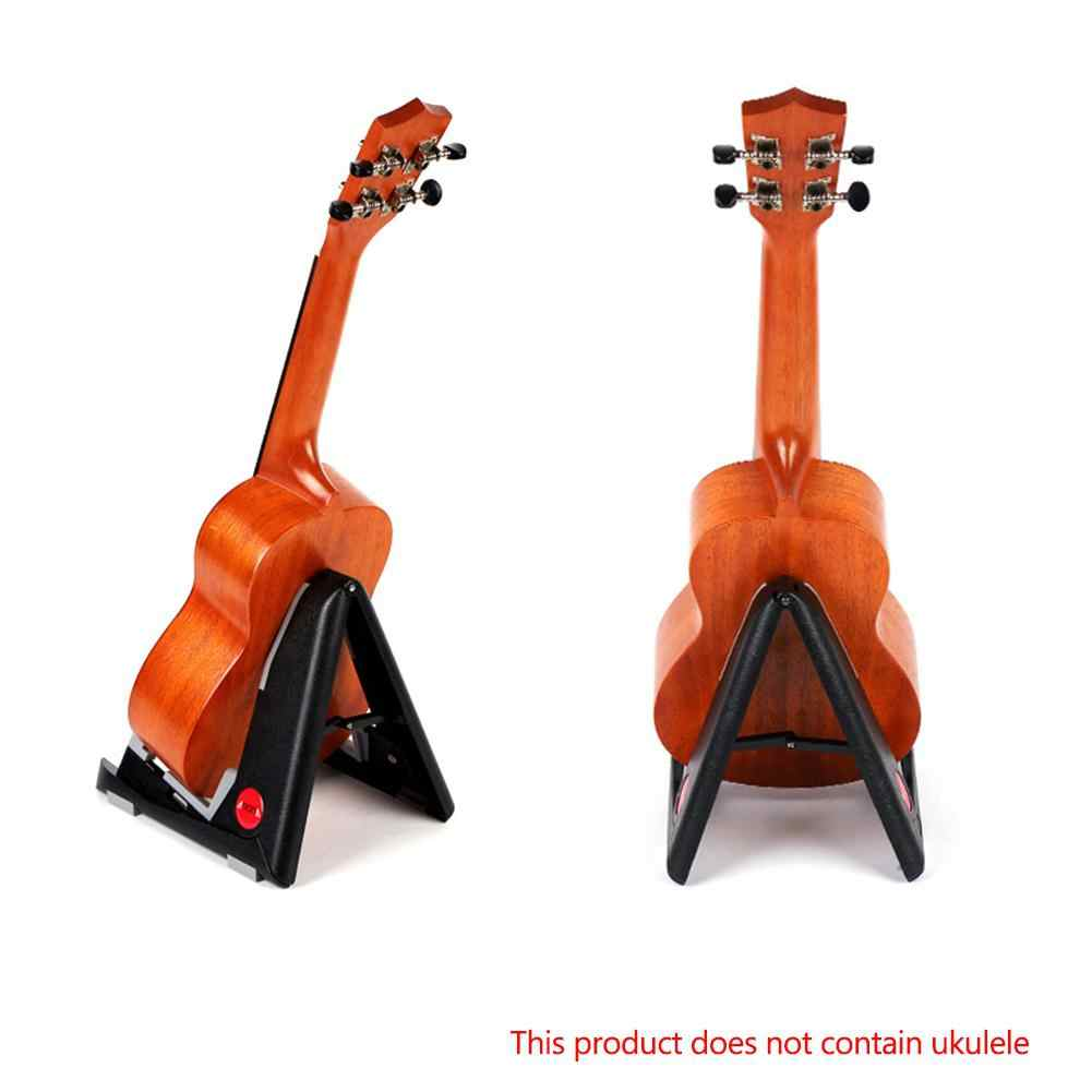 Portable Erhu Chinese Violin Display Stand Holder Instrument Parts Foldable