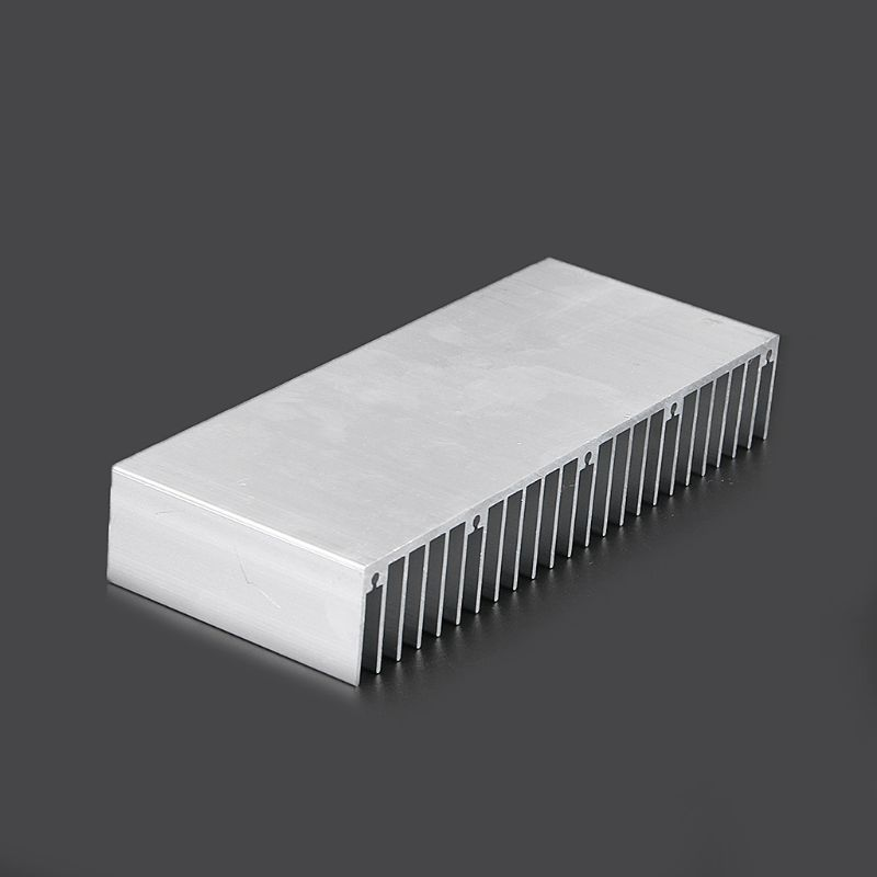 DIY Electronic Cooling StripThermal Block Extruded Aluminum Heatsink For High Power LED IC Chip Cooler Radiator Heat Sink F1FC